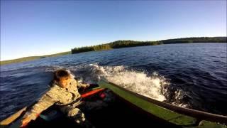 Карелия рыбалка 2015 часть 2(Отдых и рыбалка в Карелии август 2015., 2016-01-18T11:10:17.000Z)