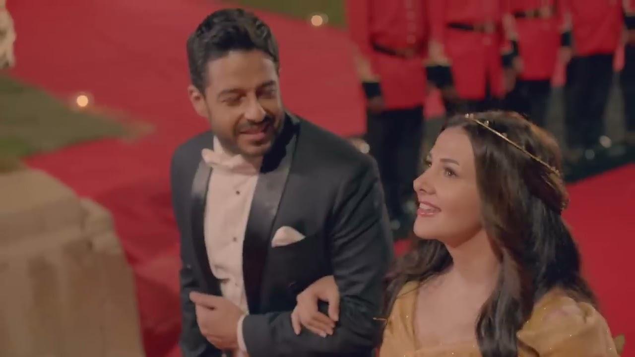 محمد حماقي و دنيا سمير غانم | أول مره - Donia Samir Ghanem Ft. Hamaki | Awel Marra - YouTube