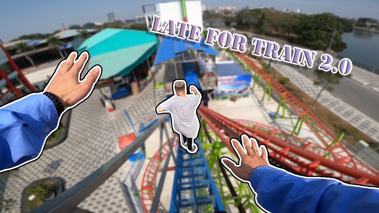 Download VIETNAM SECURITY CHASE THIEF : Late For Train 2.0 | Parkour POV