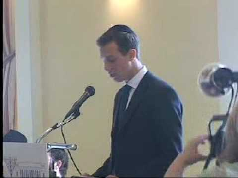 Jared Kushner Speaks at Chabad House at Harvard, 2003