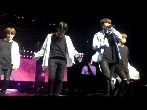 [170526] BTS The Wings Tour in Sydney @ SPRING DAY VERY CLOSE FANCAM