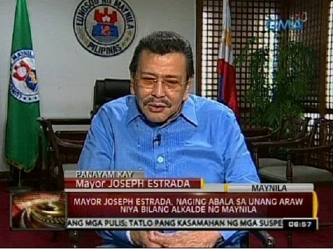 24 Oras: Live Interview with Manila Mayor Erap Estrada