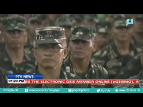 Pres. Duterte, nakatakdang bumisita sa kampo ng Phil. Army sa Taguig ngayong araw