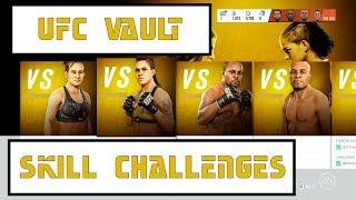 EA UFC 3 | UFC Vault - UFC 200 Solo Challenges (Ultimate Team)