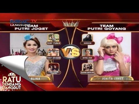 Perfrom Tim Joget VS Tim Goyang - Ratu Dendang Dangdut (17/7)