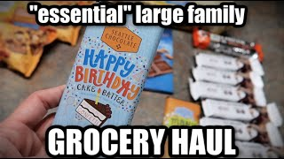 Sam's Club Grocery Haul 2020 for a Large Family | Frugal Fit Mom