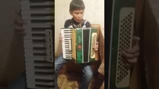 Начало обучения игры на аккордеоне.