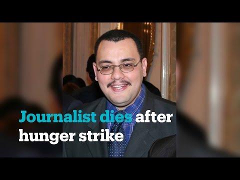 Journalist who insulted Algerian president dies on hunger strike