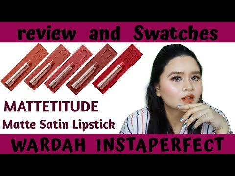 """wardah-instaperfect---mattetitude-""""matte-satin-lipstick""""-[review-and-swatches"""