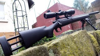 Softair Sniper Novritsch SSG 24 - Schusstest und Review! | Johnny Hand