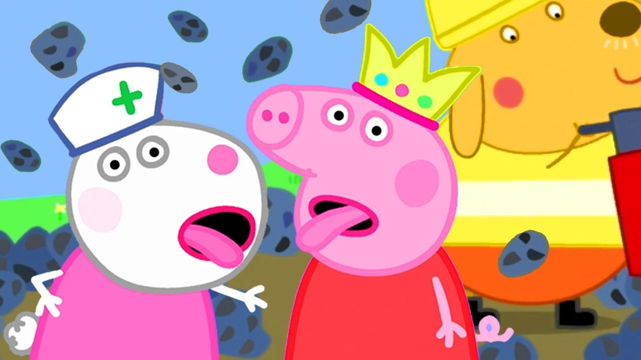 Peppa Pig Official Channel Peppa Pig S Best Friend Suzy Sheep Goes Away