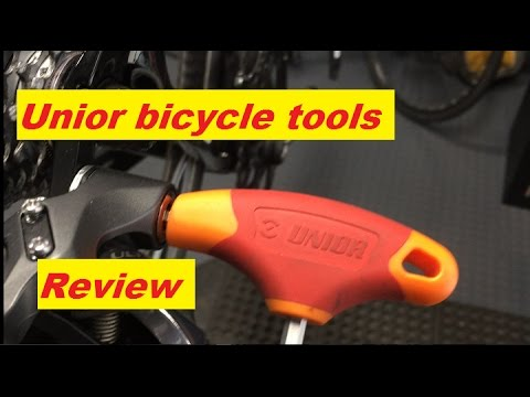 533d1e7b429 Unior bicycle tool review - YouTube