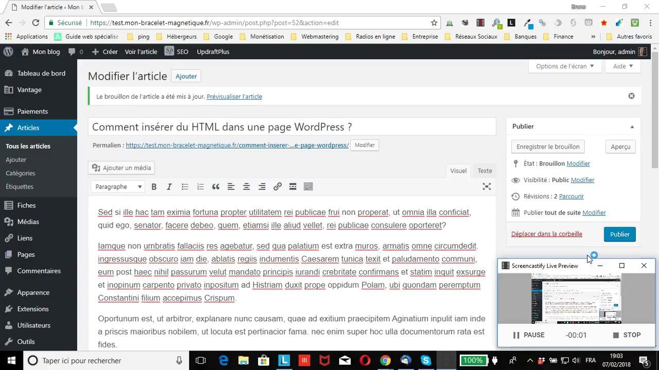 comment mettre une image en html