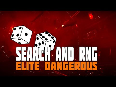 Elite Dangerous  - Search and RNG - This Weeks CG