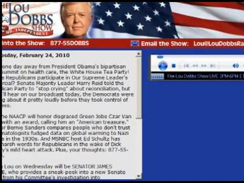 Lou Dobbs Pays Tribute to Senator James M. Inhofe