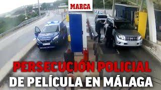 Persecución policial de película en Málaga: circulaban coches robados a más de 200 km/h I MARCA