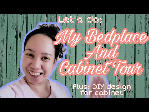 BEDPLACE AND CABINET RAID | DIY CABINET DESIGN | LIVING IN ACCOMMODATION | OFW BEDROOM TOUR ABUDHABI