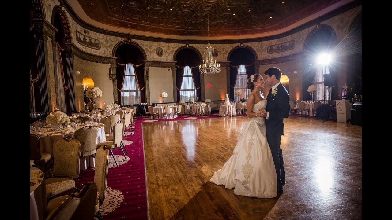 Biltmore Hotel Providence RI Wedding