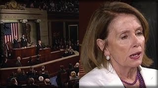 THE MINUTE TRUMP SPOKE LAST NIGHT, WATCH WHAT NASTY THING HAPPENS TO NANCY PELOSI'S FACE!
