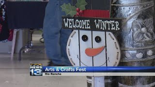 Community preps for Christmas with local arts and crafts festival
