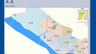 XIDE GIS Map S/W - IP Surveillance based on Vector Map (GIS 맵 모니터링)