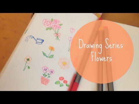 Drawing Series: Flowers