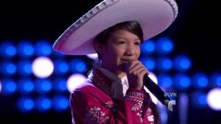 La Voz Kids | Ashley Acosta canta 'La Cigarra' en La Voz Kids 3