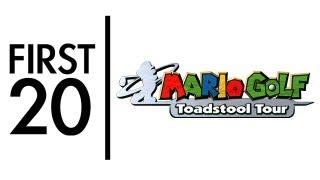 Mario Golf Toadstool Tour - First20