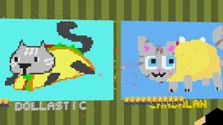 Minecraft / Pixel Painters / Taco Animals / Gamer Chad Plays