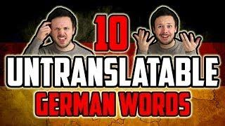 10 Untranslatable German Words   Bloopers