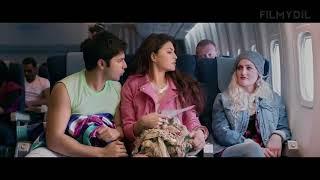Judwaa 2 Varun Dhawan Flirt with Jacquline Plane Scene   Taapsee Pannu