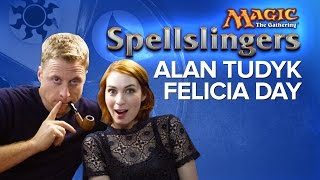 Day [9] vs. Alan Tudyk, Felicia Day, and Ryon Day  in Magic: The Gathering: Spellslingers