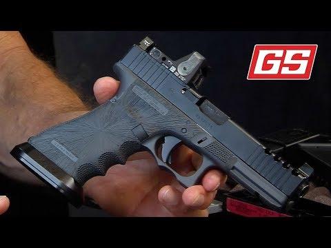 G17 Gen4 Sniper Grey with Sunburst Stipple
