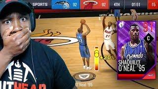 91 OVR SHAQ SHOOTING 3-POINTERS LIKE CURRY! NBA Live Mobile 19 Season 3 Gameplay Ep. 8