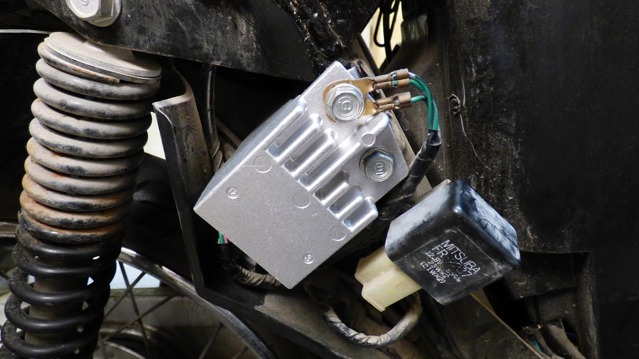 Regulator Rectifier Check Removal Installation Honda Innova Garage Wave 2010 Youtube