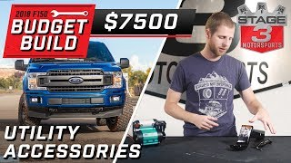 2018 Ford F150 Budget Build Utility Accessories Tier 3 $7500