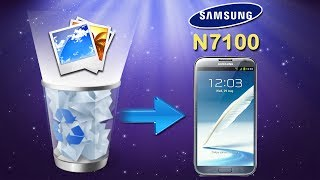 Galaxy Note 2 Recovery: How to Recover Deleted Photos from Samsung Galaxy Note II (GT N7100)?