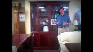 "Baker Inlaid China Cabinet ""pieces Of The Week"" 06/22/12"