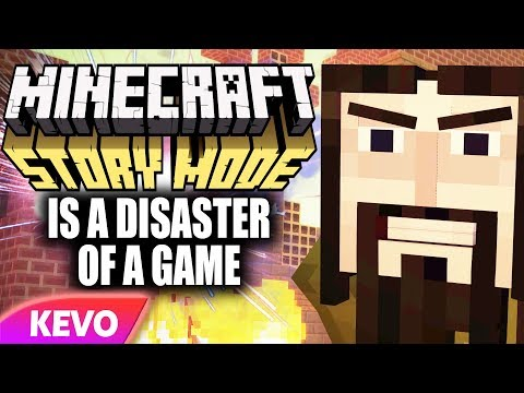 Minecraft Story Mode Is A Disaster Of A Game