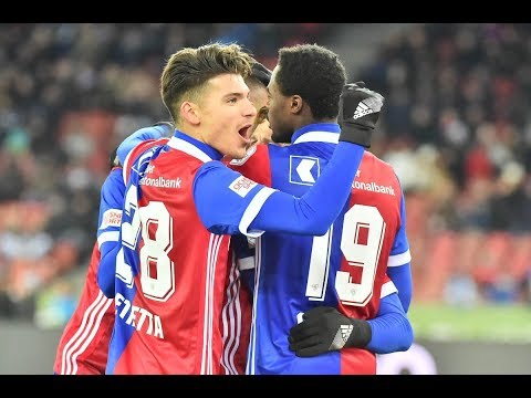 Highlights: Grasshopper-Club Zürich vs. FC Basel (0:2) - 17.12.2017