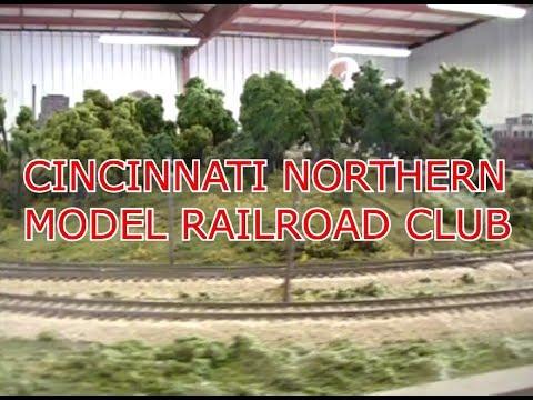 MODEL RAILROAD SCENERY CINCINNATI NORTHERN MODEL RR CLUB