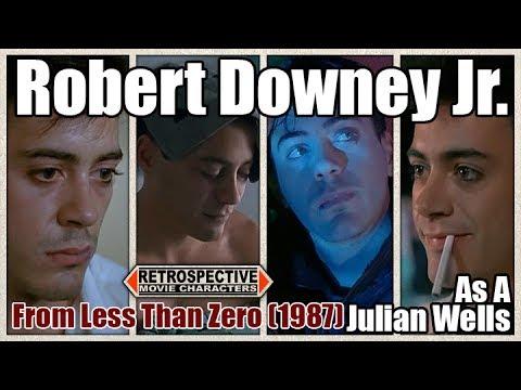 Robert Downey Jr. As A Julian Wells From Less Than Zero (1987)
