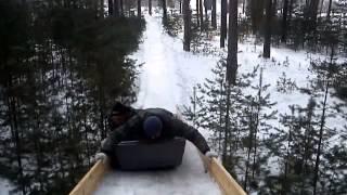 Тренировка Владимирской сборной по бобслею