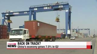 Chinese economy grows 7.5% in Q2