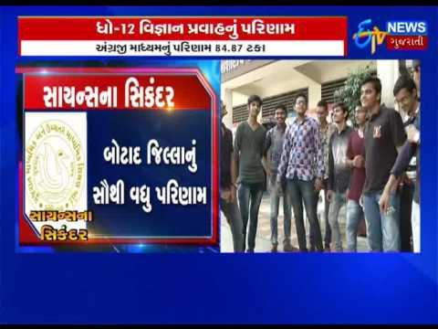 Gujarat: GSEB Class 12 science stream 2017 Exams results declared_Etv News Gujarati