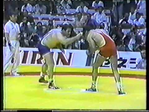 Gobedishvili,David (URS) - Boumgartner,Bruce (USA) 130 kg. Final.1990 Chempionat mira.Tokyo