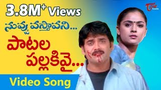 Video Nuvvu Vasthavani Songs - Patala Pallakivai (Sad) - Nagarjuna - Simran download MP3, 3GP, MP4, WEBM, AVI, FLV November 2017