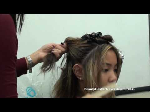 Highlight Toner Class with 20V and 30V Peroxide and Lightener