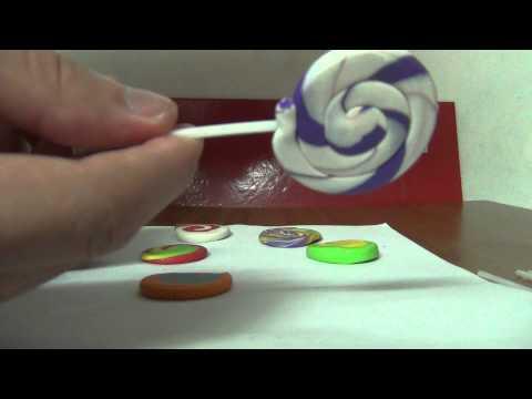 """""""kẹo mút"""" handmade cực kì đơn giản =p~"""