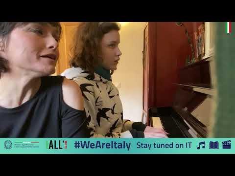 #WeAreItaly - Petra Magoni And And Frida Bollani Magoni